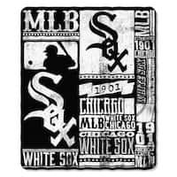 MLB 031 White Sox Strength Fleece Throw