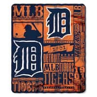 MLB 031 Tigers Strength Fleece Throw