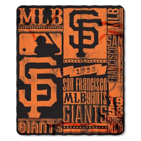 MLB 031 SF Giants Strength Fleece Throw