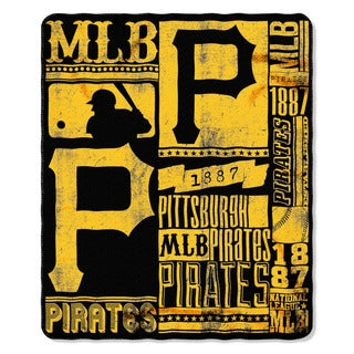 MLB 031 Pirates Strength Fleece Throw