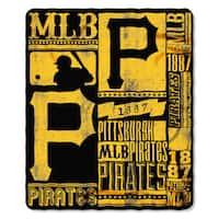 MLB 031 Pirates Strength Fleece Throw