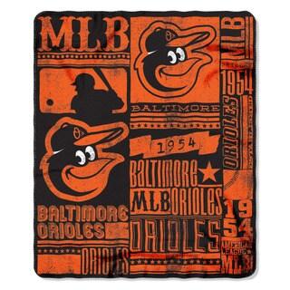 MLB 031 Orioles Strength Fleece Throw