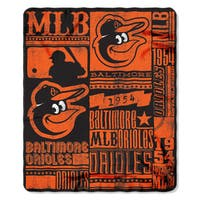 MLB 031 Orioles Strength Fleece Throw