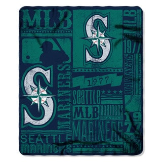 MLB 031 Mariners Strength Fleece Throw