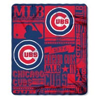 MLB 031 Cubs Strength Fleece Throw