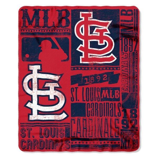 MLB 031 Cardinals Strength Fleece Throw