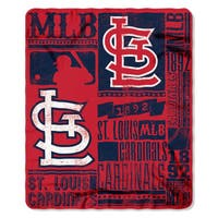 MLB 031 Cardinals Strength Fleece Throw