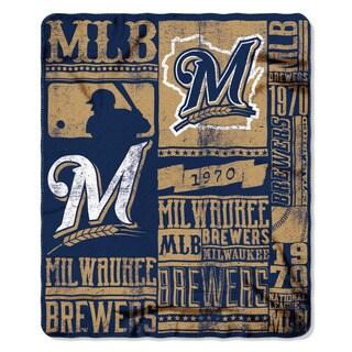 MLB 031 Brewers Strength Fleece Throw