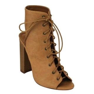 Liliana Women's Beston Stacked Heels