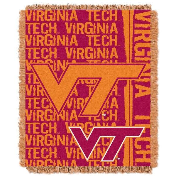 College 019 Virginia Tech Double Play Throw