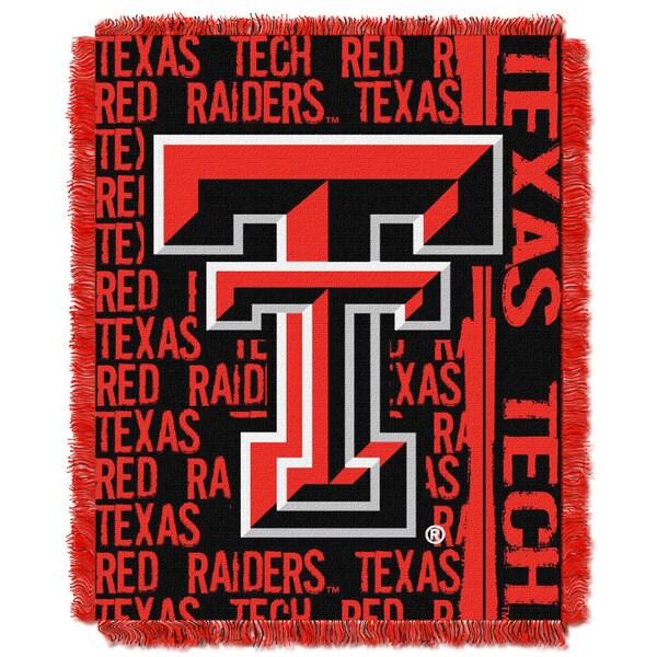 College 019 Texas Tech Double Play Throw