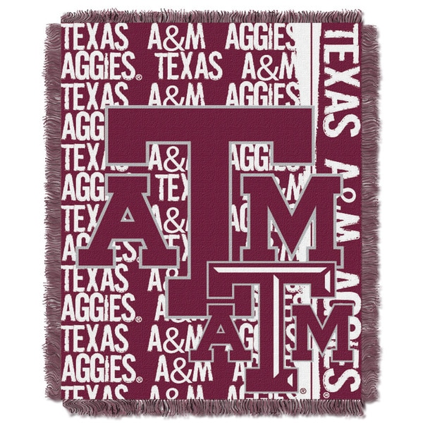 College 019 Texas A&M Double Play Throw
