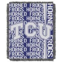 College 019 TCU - Texas Christian Double Play Throw