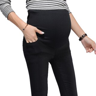 Women's Cotton Adjustable-waist Convertible Maternity Leggings