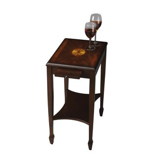 Butler Gilbert Plantation Cherry Rectangular Side Table - Dark Brown