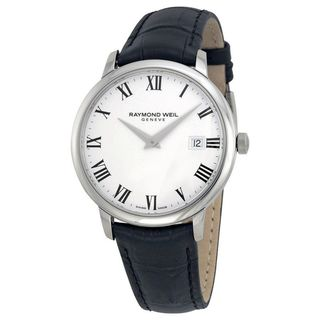 Link to Raymond Weil Men's 5488-STC-00300 'Toccata' Black Leather Watch Similar Items in Men's Watches