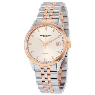 Raymond Weil Men's 2740-SP5-65011 'Freelancer' Automatic Two-Tone Stainless Steel Watch