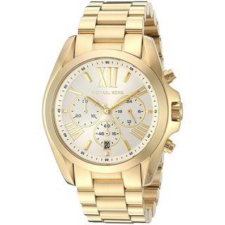Michael Kors Women's MK6266 'Bradshaw' Chronograph Gold-tone Stainless Steel Watch