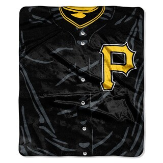 MLB 0705 Pirates Jersey Raschel Throw