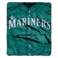 MLB 0705 Mariners Jersey Raschel Throw