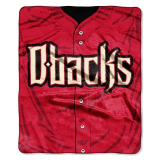 MLB 0705 Diamondbacks Jersey Raschel Throw