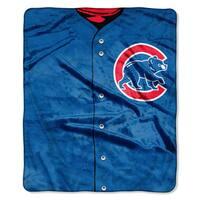 MLB 0705 Cubs Jersey Raschel Throw