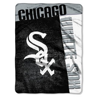 MLB 0802 White Sox Strike Raschel Throw