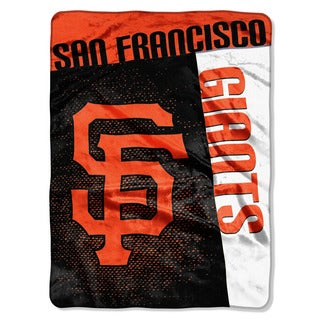 Shop Mlb 0802 Sf Giants Strike Raschel Throw Free