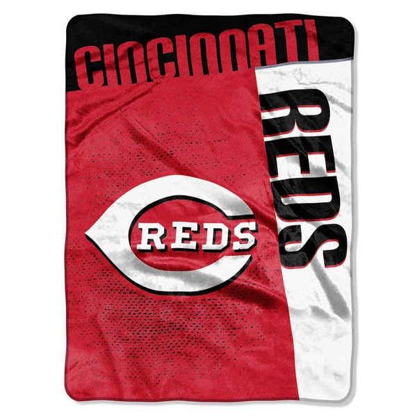 MLB 0802 Reds Strike Raschel Throw