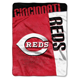 MLB 0802 Reds Strike Raschel Throw