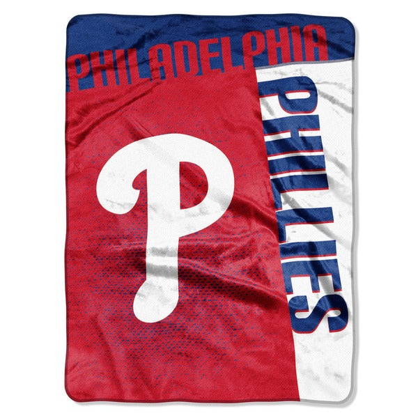 MLB 0802 Phillies Strike Raschel Throw