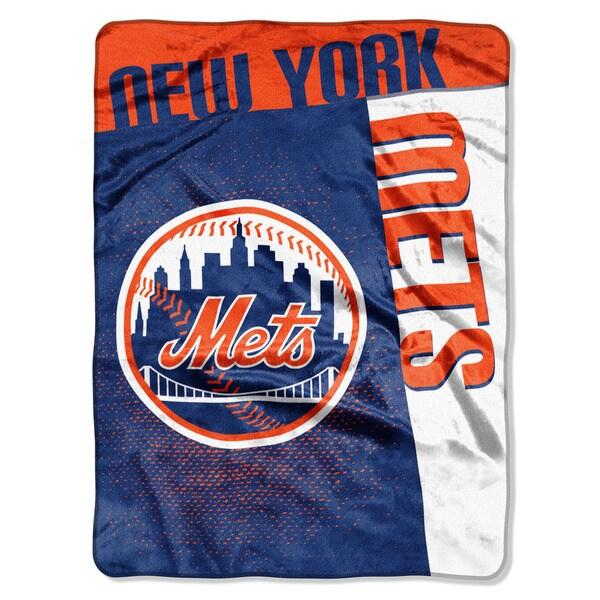MLB 0802 Mets Strike Raschel Throw