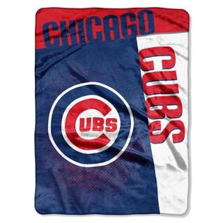 MLB 0802 Cubs Strike Raschel Throw