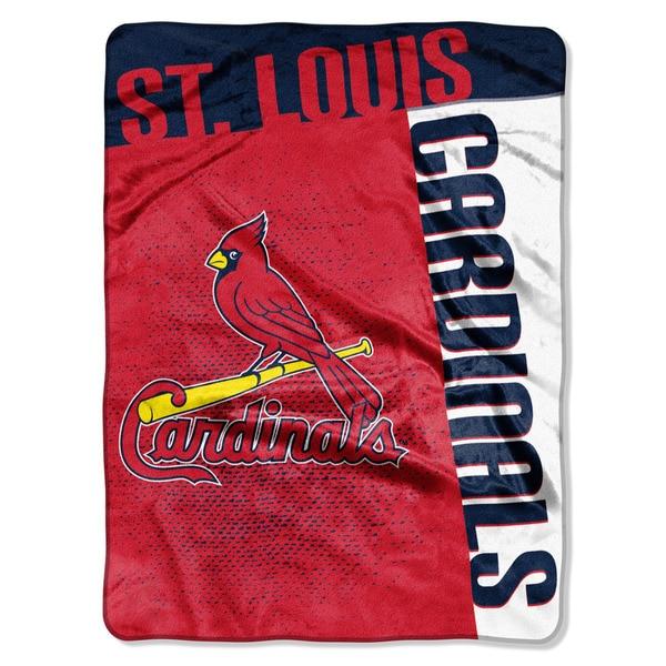 MLB 0802 Cardinals Strike Raschel Throw
