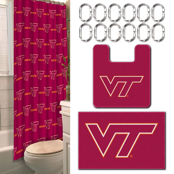 COL 893 Virginia Tech 15-Piece Bath Set