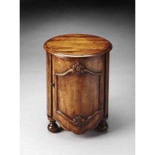 Handmade Butler Kenwood Dark Toffee Drum Table (China)