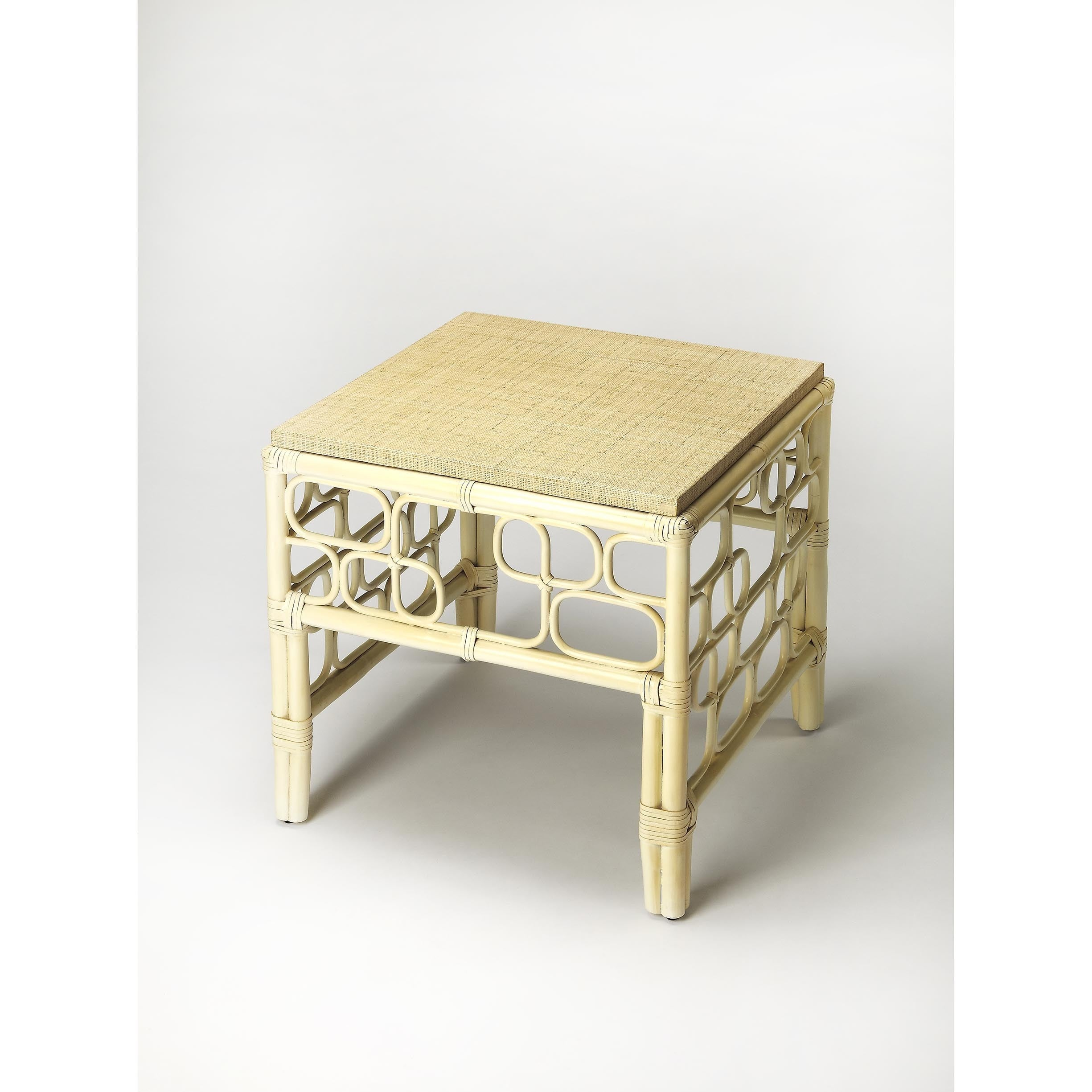 Strange Handmade Butler Althea Beige Mdf Rattan End Table Philippines Pdpeps Interior Chair Design Pdpepsorg