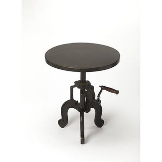 Butler Clifford 3682330 Black Iron Industrial Chic End Table