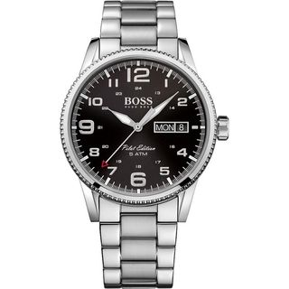 Hugo boss Men's 1513327 'Pilot Edition' Stainless Steel Watch