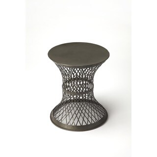 Butler Allotrope 3671330 Black Iron Industrial Chic End Table
