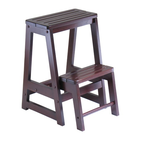 Winsome Home Indoor Living Room Double Step Stool