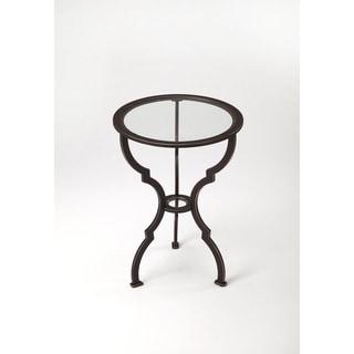 Butler Yvonne Black Iron End Table