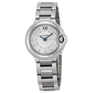Cartier Women's WE902073 'Ballon Bleu' Diamond Stainless Steel Watch