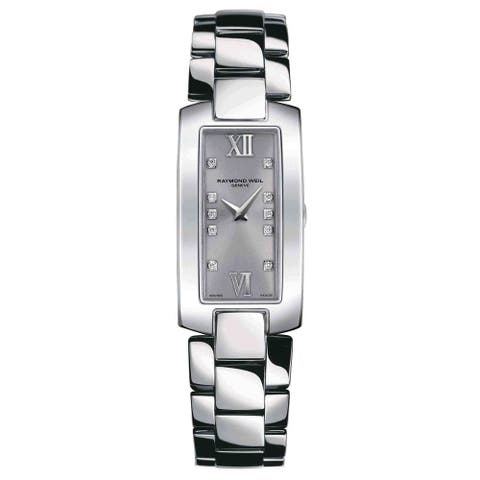 Raymond Weil Women's 1500-ST-00685 'Shine' Diamond Stainless Steel Watch