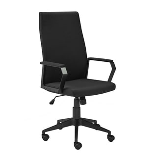 Adjustable Rolling Leather Office Chair Free Shipping Today