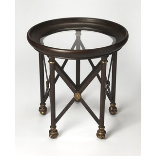 Butler Richton Glass/Metal Lamp Table