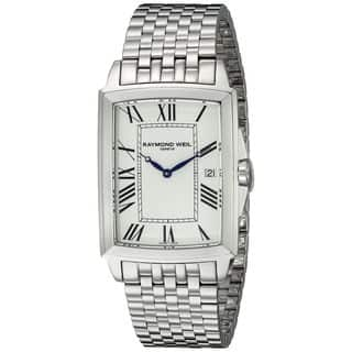 Raymond Weil Men's 5597-ST-00300 'Tradition' Stainless Steel Watch|https://ak1.ostkcdn.com/images/products/12069798/P18937728.jpg?impolicy=medium