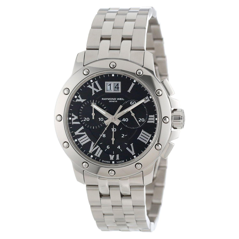 Raymond Weil Men's 4899-ST-00208 'Tango' Chronograph Stainless Steel Watch (Raymond Weil Men's 4899-ST-00208 Stainless steel)