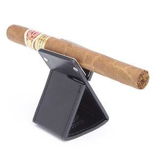 Royce Genuine Leather Foldable Cigar Stand Ashtray Holder