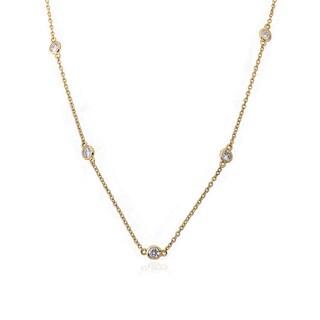 Riccova Radiance Bijou The Yard 14k Goldplated Cubic Zirconia 36-inch Retro Chain Necklace|https://ak1.ostkcdn.com/images/products/12069945/P18937839.jpg?_ostk_perf_=percv&impolicy=medium